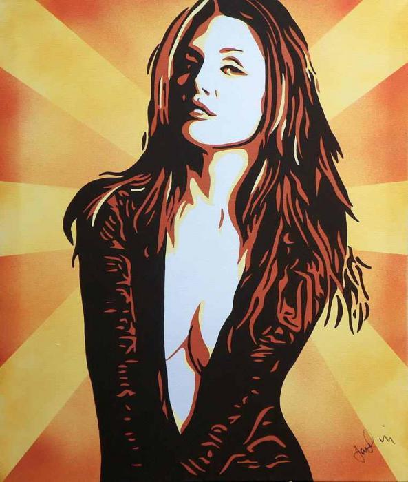 Julianne Moore by iankingart
